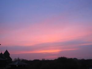 Sunrise 31/10/14