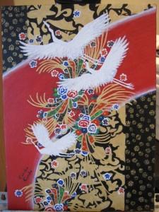 Swans in Kimono