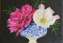 Dalia in a vase