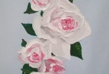 Shabby chic roses (sold out)