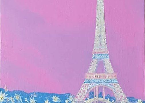 Effeltower in Pink