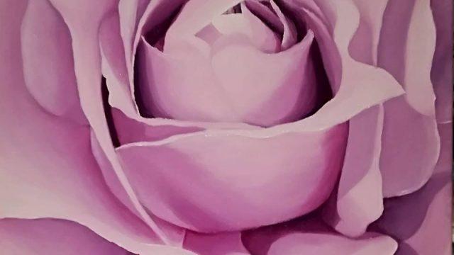 One Rose Purple