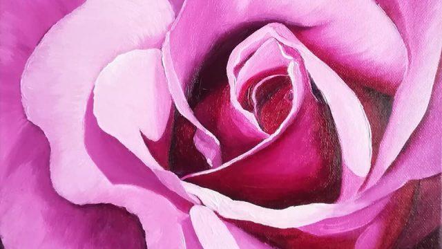 One Rose Oriental