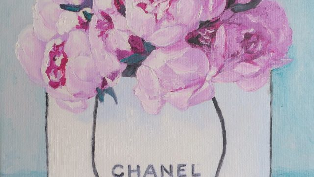 Roses in CHANEL